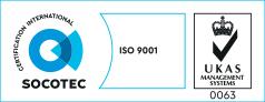 Studio Paci Progettazioni Pesaro Certificato Socotec ISO 9001